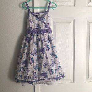 George butterfly dress